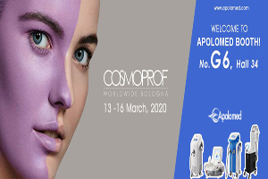 Cosmoprof, Bologna, March 13th – 16th 2020