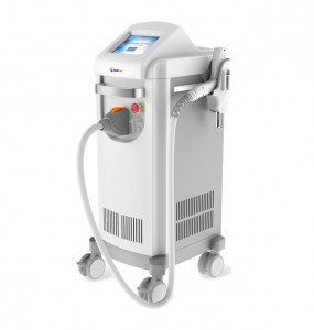EO Q-switched nd yag laser 3.5ns compact hand-held unit 1064ns 532ns with array lens